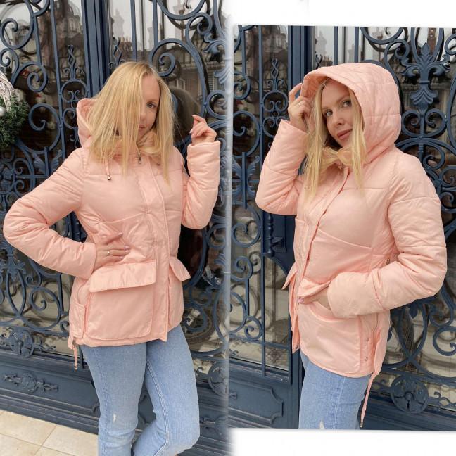 1025-1 Lady Yep пудра куртка женская еврозима (3 ед. размеры: 42.44.46) Lady Yep: артикул 1117690
