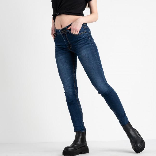 0603 Fashion jeans джинсы женские синие стрейчевые (6 ед. размеры: 25.26.27.28.29.30) Fashion jeans: артикул 1118252