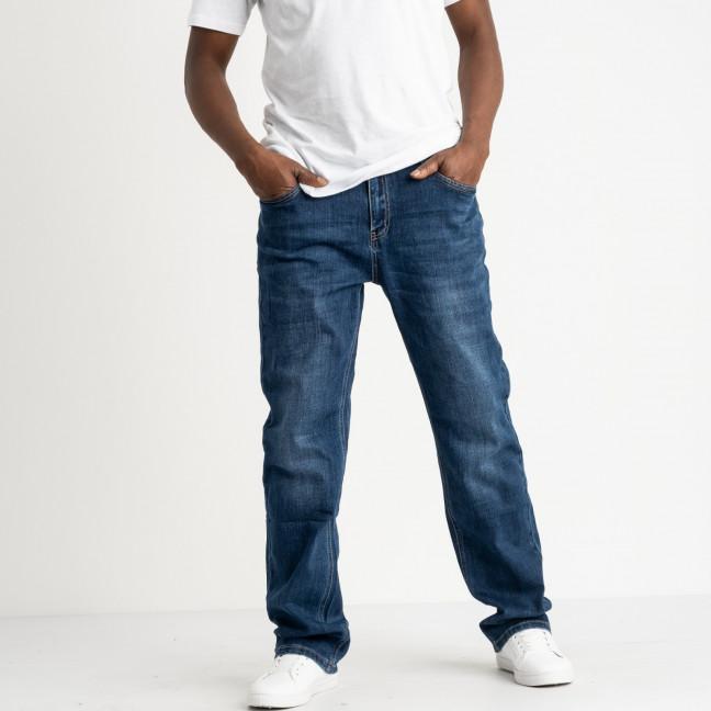 22777 Reigouse джинсы батальные мужские синие стрейчевые (8 ед. размеры: 34.36.37.38.39.40.41.42) REIGOUSE: артикул 1118636