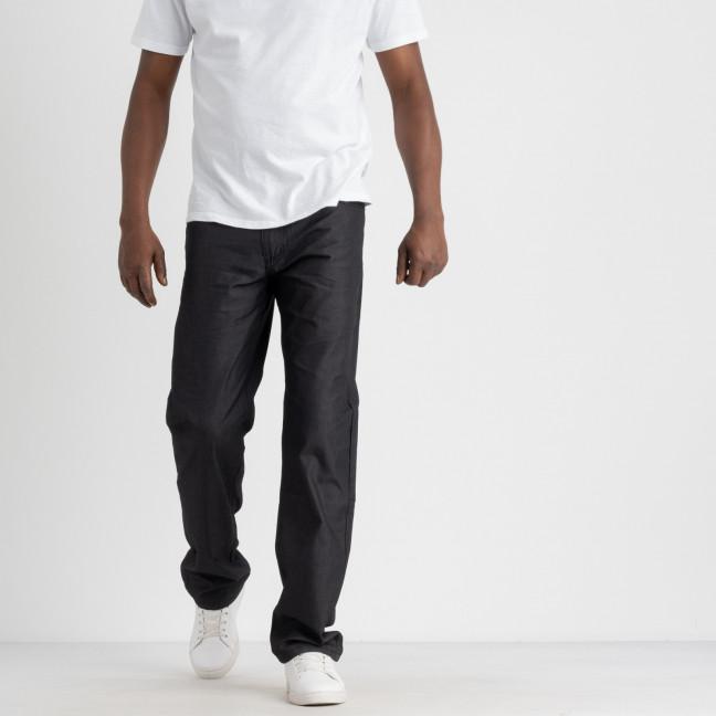 43502 LS брюки мужские черная клетка котоновые (8 ед. размеры: 30.31.32.33.34.35.36.38) LS: артикул 1108537