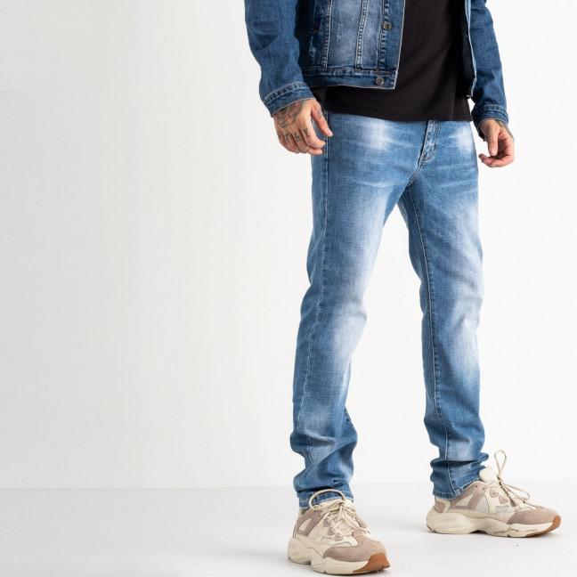 2033 Fang джинсы синие стрейчевые (8 ед. размеры: 29.30.31.32.33.34.35.36) Fang: артикул 1118350
