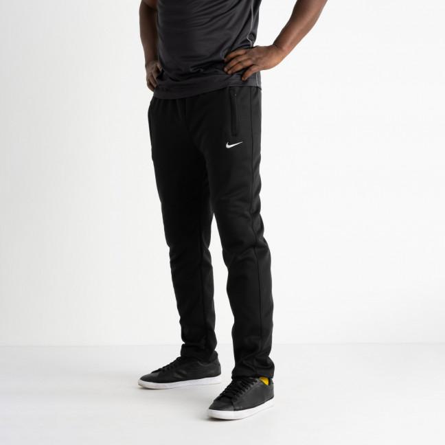 16404-1 черные батальные спортивные брюки из двунитки (4 ед. размеры: 56.58.60.62) Спортивные штаны: артикул 1120296