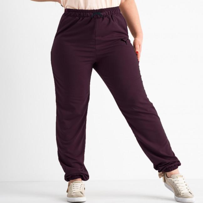 14870-6 Mishely бордовые брюки спортивные батальные стрейчевые (4 ед. размеры: 50.52.54.56) Mishely: артикул 1118143