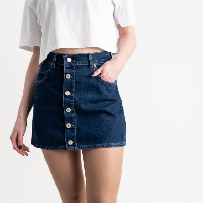 2404 Xray юбка джинсовая на пуговицах синяя котоновая (6 ед. размеры: 34.34.36.36.38.40) XRAY: артикул 1118960