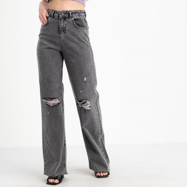 21469 YMR мом женский джинсовый серый котоновый (7 ед. размеры:34.36.38/2.40/2.42) YMR: артикул 1122319