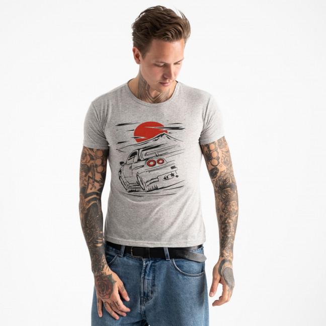 2610-5 футболка мужская с принтом (4 ед. размеры: M.L.XL.2XL) Футболка: артикул 1120953
