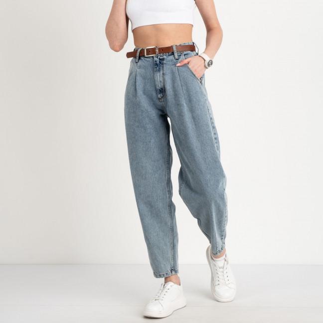 2443-7551 Richone джинсы балоны голубые котоновые (6 ед. размеры: 25.26.27/2.29.30) Richone: артикул 1122738