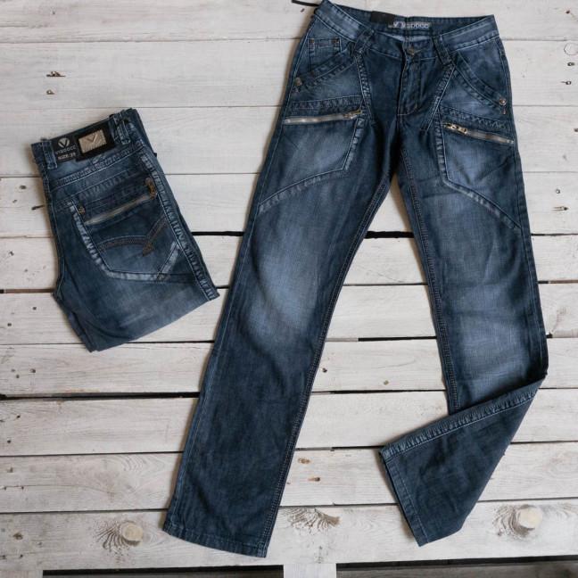 3182 Vigoocc подростковые джинсы на мальчика синие котоновые ( 7 ед. размеры: 24.25.26.27.28.29.30) Vigoocc: артикул 1117650