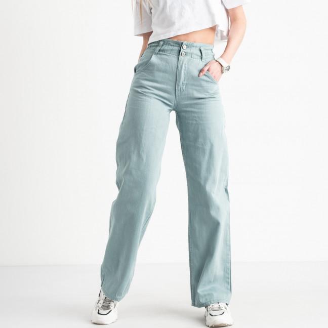 2154 джинсы клёш голубые котоновые (8 ед. размеры: 25.26/2.28/2.30/2.32) Джинсы: артикул 1120847