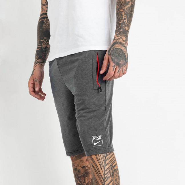 1106-6 серые спортивные шорты мужские (5 ед. размеры: 46.48.50.52.54) Шорты: артикул 1120422