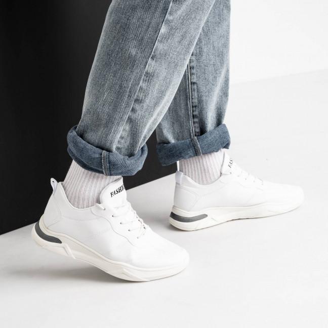 211020-5 белые кроссовки мужские (8 ед. размеры: 39.40.41.42.42.43.43.44) Кроссовки: артикул 1119467