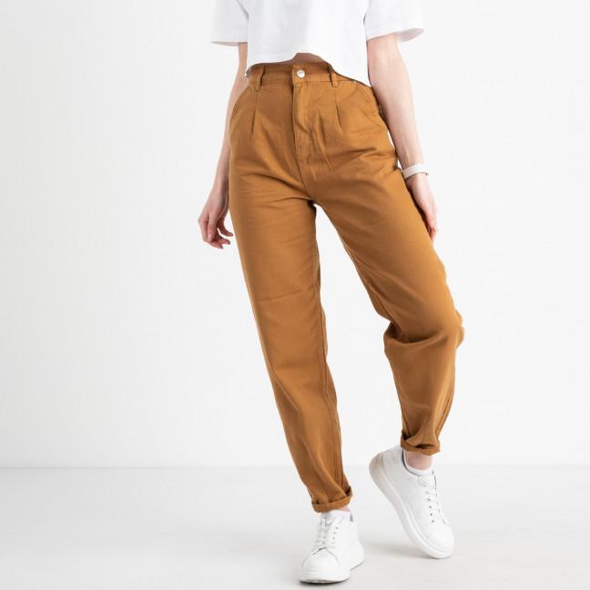 3384 Top Secret джинсы-баллоны коричневые котоновые (8 ед. размеры: 25.26/2.28/2.30/2.32) Джинсы: артикул 1120845