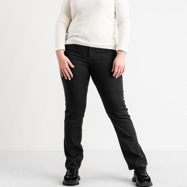 9761-1 Sunbird черные джинсы женские батальные стрейчевые (6 ед. размеры: 33.34.35.36.37.38) Sunbird: артикул 1105220
