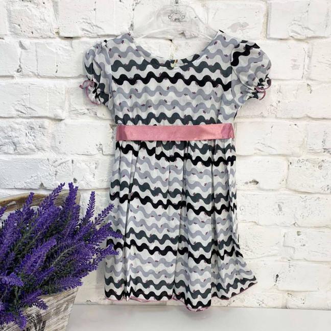 0007-1 платье хлопковое на девочку 1-4 года (3 ед. размеры: 80.92.104) Маленьке сонечко: артикул 1121806