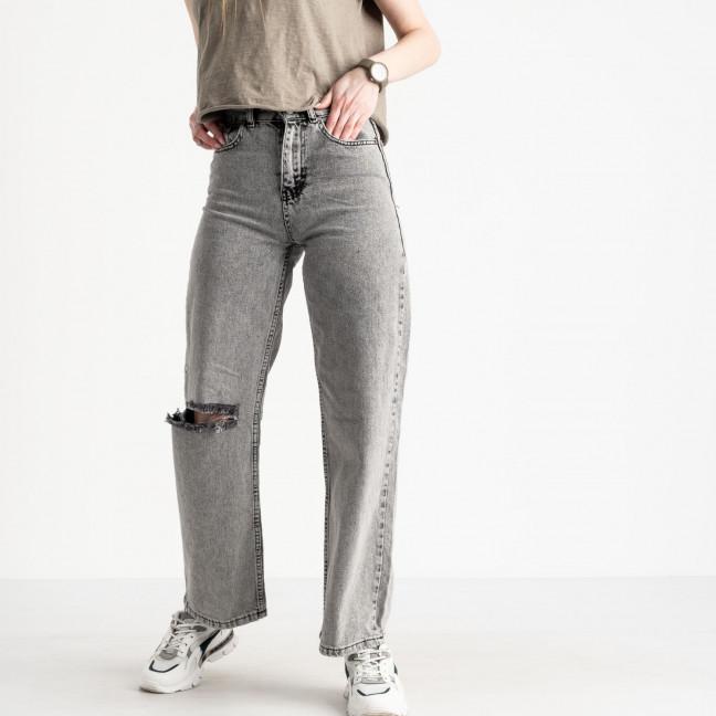2164 Plus Denim джинсы-балоны женские серые котоновые (8 ед. размеры: 25.26/2.28/2.30/2.32) Plus Denim: артикул 1120237
