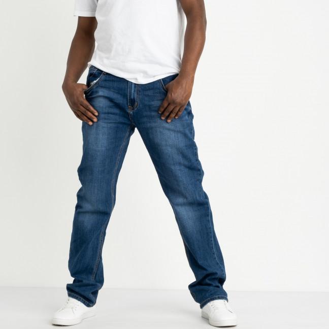 5003-02 Dsouaviet джинсы полубатальные мужские синие стрейчевые (7 ед. размеры: 32.33.34/3.38.42) Dsouaviet: артикул 1120346