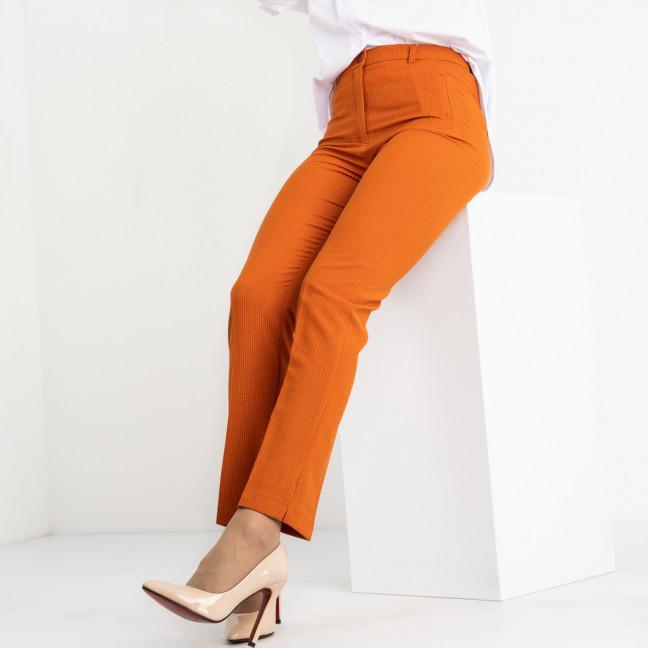 0199-308 Larex брюки женские оранжевые котоновые (4 ед. размеры: 36.38.40.42) Larex: артикул 1119000