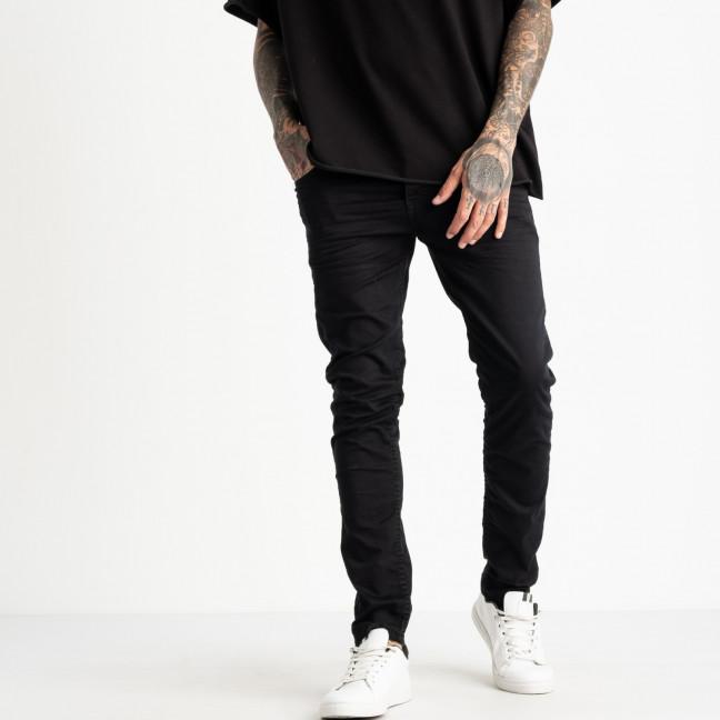 0748 Jack Kevin джинсы черные мужские стрейчевые ( 8 ед. размеры: 29.30.31.32.33.34.36.38) Jack Kevin: артикул 1121917