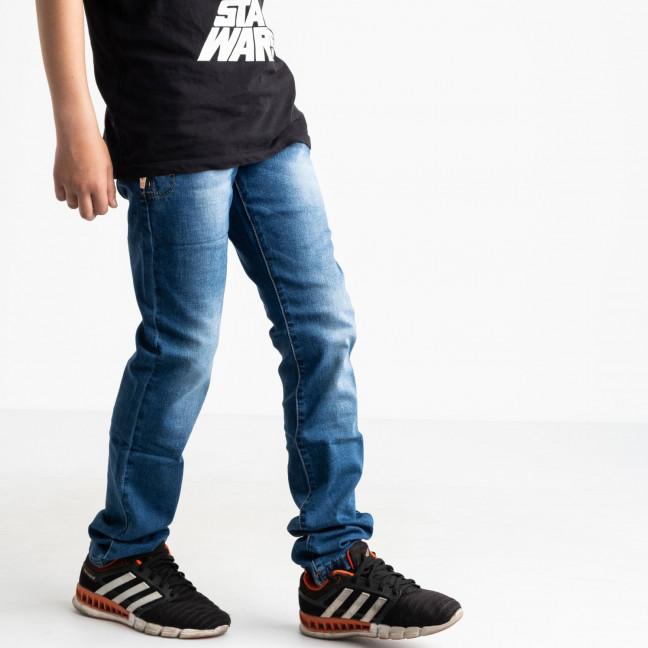 0091-5 Vingvgs джинсы юниор синие стрейчевые (7 ед. размеры: 23.24.25.26.27.28.29) Vingvgs: артикул 1122315