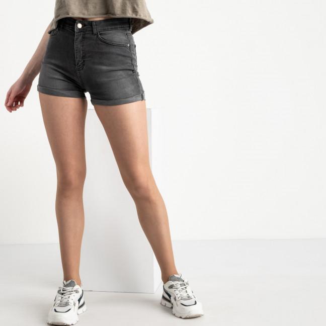 0700-2855 Kind Lady шорты серые стрейчевые (7 ед. размеры: 34.36.38.40.42/2.44) Kind Lady: артикул 1122462
