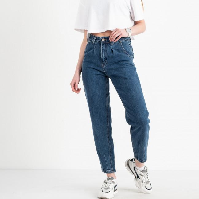 3050 Sasha джинсы баллоны женский синий котоновый (8 ед. размеры:26.27/2.28/2.29.3031) Джинсы: артикул 1120867