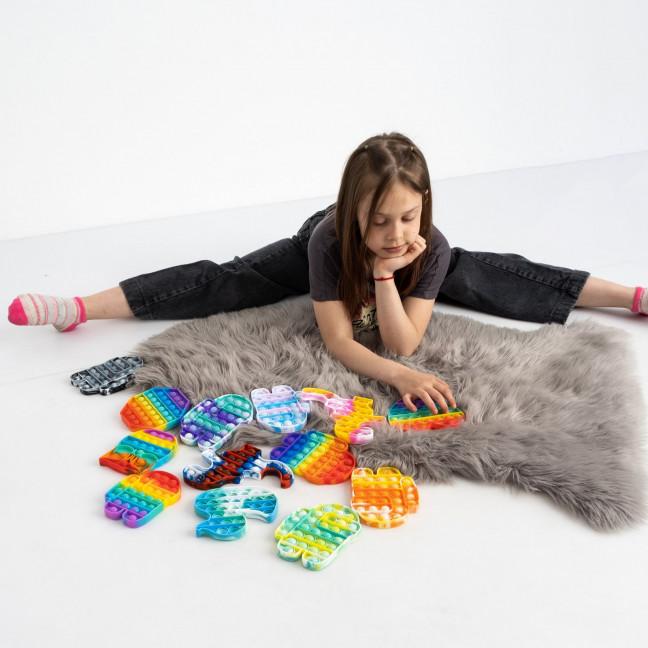 6001 Pop It детская игрушка антистресс (10 ед.микс моделей) Pop it: артикул 1122194