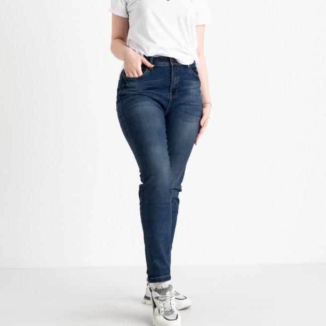 5007-6 Relucky джинсы женские батальные синие стрейчевые (6 ед. размеры: 31.32.33.34.36.38) Relucky: артикул 1122367