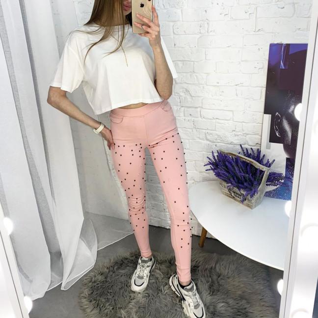 8056-6 Yimeite розовые брюки женские стрейчевые (6 ед. размеры: 25.26.27.28.29.30) Yimeite: артикул 1121603