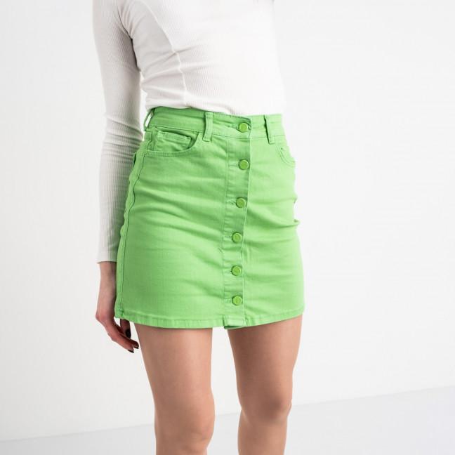 2088 Arox юбка женская зеленая котоновая (4 ед. размеры: 34.36.38.40) Arox: артикул 1118715