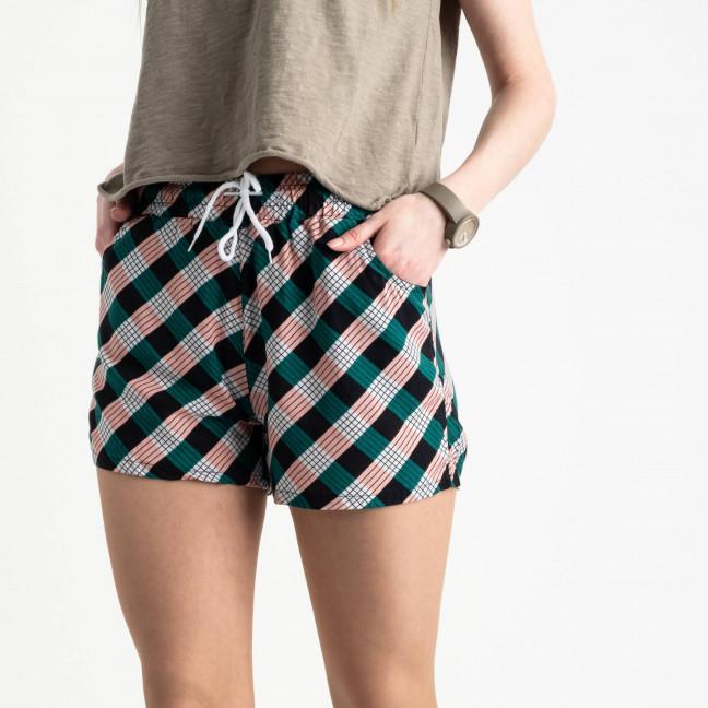 1538 Callin шорты женские разноцветные в полоску (12 ед. размеры: M/3.L/3.XL/3.2XL/3) Callin: артикул 1120437