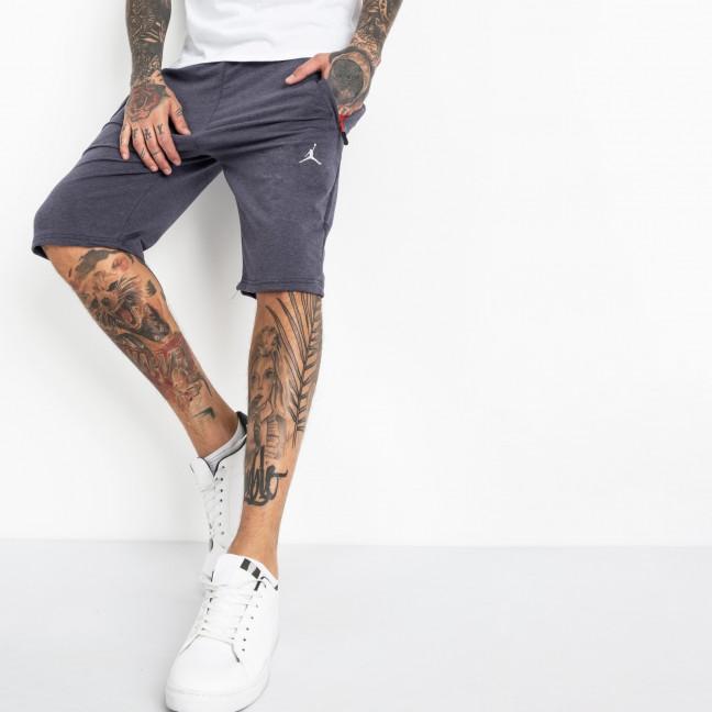 1103-7 индиго спортивные шорты мужские (5 ед. размеры: 46.48.50.52.54) Шорты: артикул 1120357