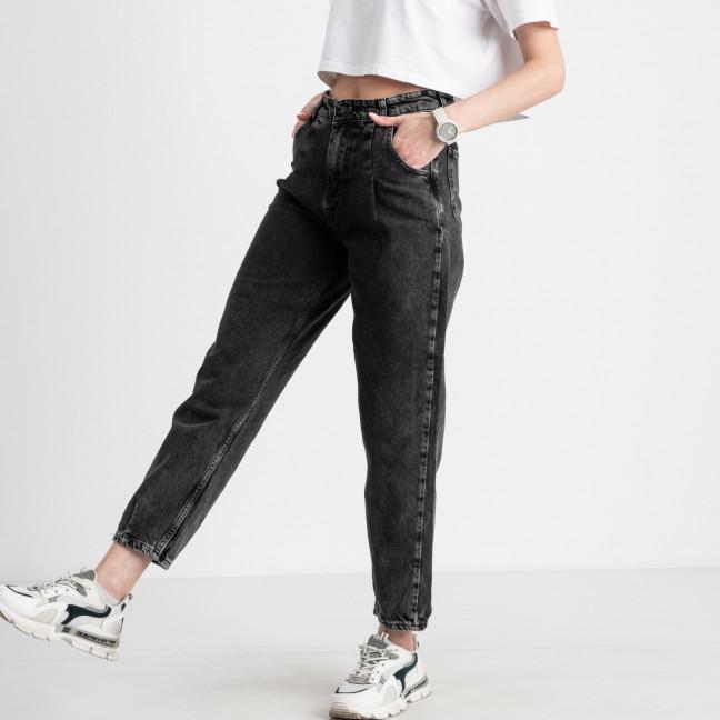 2117 MOM джинсы-балоны женские серые котоновые (8 ед. размеры: 25.26/2.28/2.30/2.32) MOM: артикул 1119562