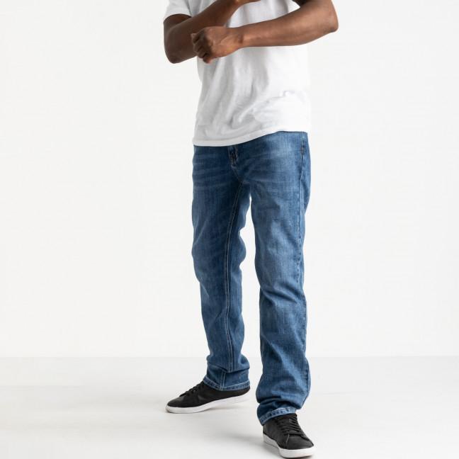 21777 Reigouse джинсы полубатальные мужские синие стрейчевые (8 ед. размеры: 32.33.34.36.36.38.38.40) REIGOUSE: артикул 1118632