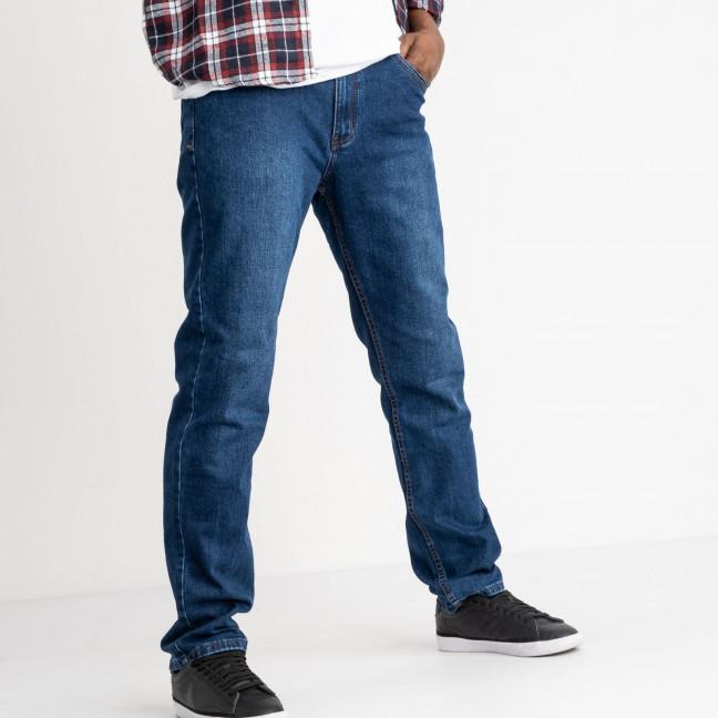 0110 D Vitions джинсы батальные синие стрейчевые (8 ед. размеры: 34.35.36.37.38.40.42.44) Vitions: артикул 1118314