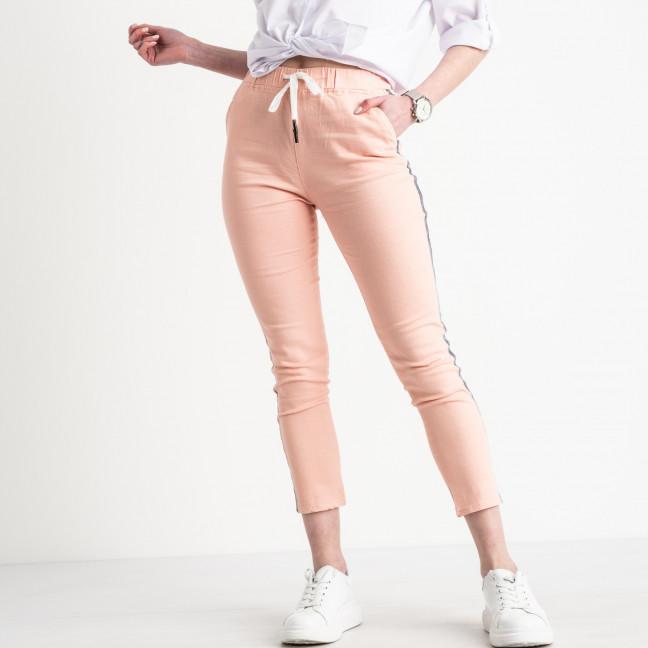 0208-3 Yimeite пудра брюки женские стрейчевые (6 ед. размеры: 25.26.27.28.29.30) Yimeite: артикул 1119615