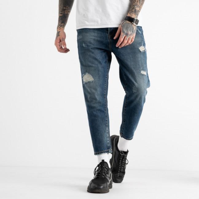 1765 мужские джинсы синие котоновые (8 ед. размеры: 42.44.44.46.46.48.48.50) Y.Two: артикул 1117244