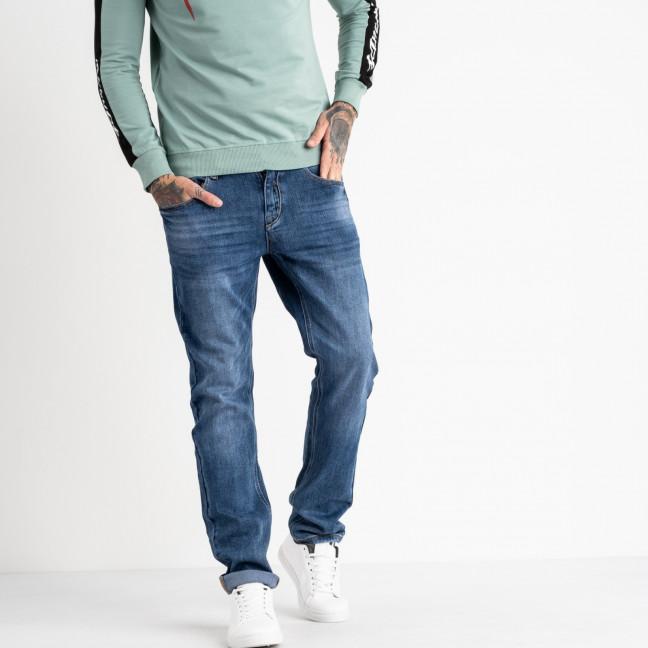 19777 Reigouse джинсы мужские синие стрейчевые (8 ед. размеры: 30.31.32.33.34.36.38.40) REIGOUSE: артикул 1118630