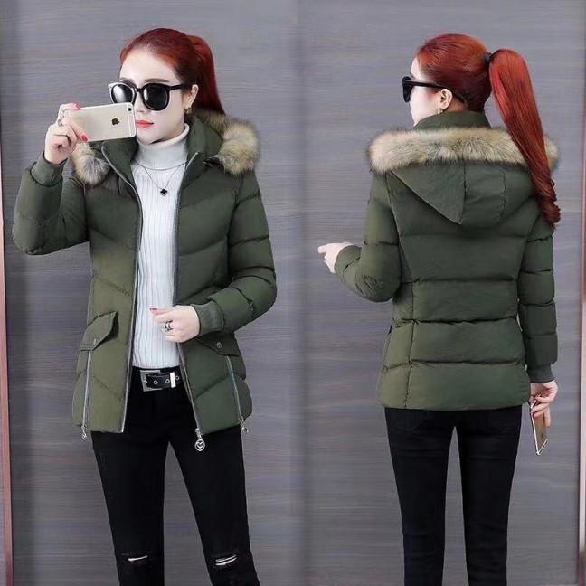 6936-4 куртка хаки женская на синтепоне (6 ед. размеры: M.L.2XL/2.3XL.4XL) Куртка: артикул 1125587