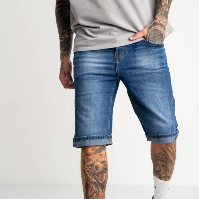 3062 Dsouaviet джинсовые шорты мужские полубатальные голубые стрейчевые ( 8 ед. размеры: 32.33.33.34.34.36.36.38)   Dsouaviet: артикул 1121333