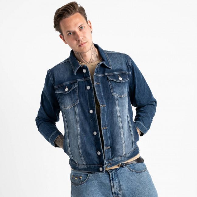 4606 Cecci куртка мужская синяя котоновая (6 ед. размеры: S.M.L/2.XL.2XL) Cecci: артикул 1120643