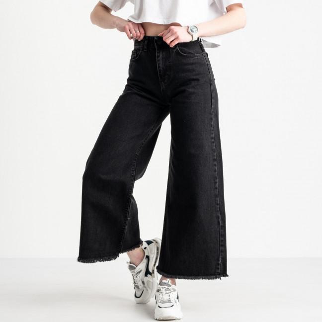 2093 Plus Denim джинсы-клеш женские черные котоновые (8 ед. размеры: 25.26/2.28/2.30/2.32) Plus Denim: артикул 1119848
