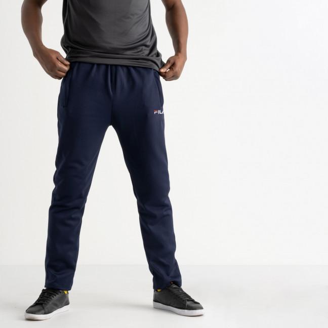 16406-2 синие батальные спортивные брюки из двунитки (4 ед. размеры: 56.58.60.62) Спортивные штаны: артикул 1121317