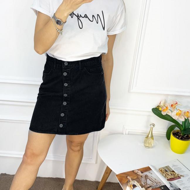 0028-138 Arox юбка полубатальная черная котоновая (6 ед. размеры: 42.44.46.46.48.50) Arox: артикул 1118556