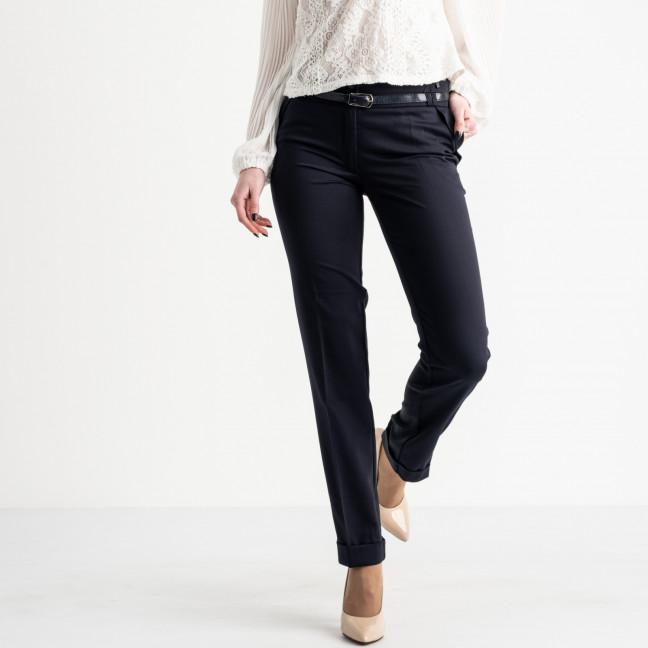 0067-154 Larex брюки женские синие котоновые (4 ед. размеры: 36.38.40.42) Larex: артикул 1119003