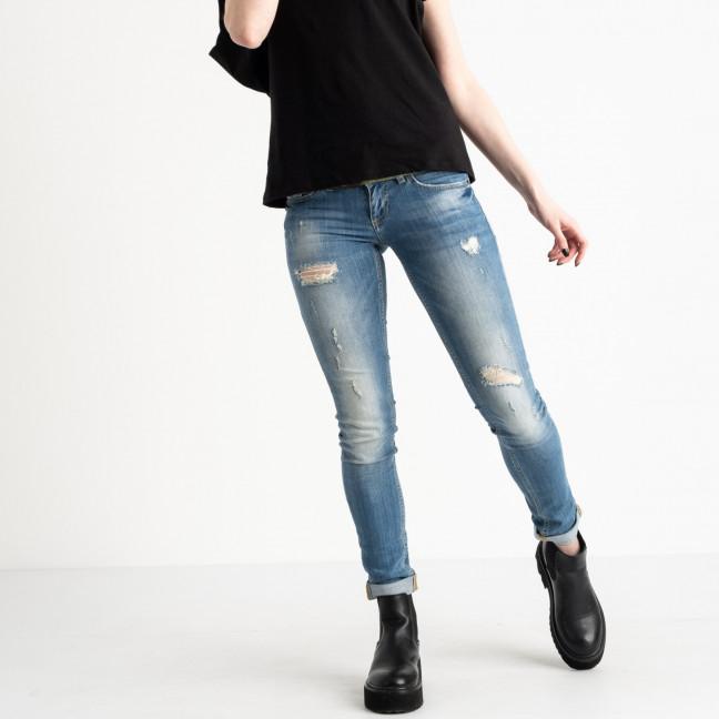 9364-581 Colibri джинсы женские голубые стрейчевые (6 ед. размеры: 25.26.27.28.29.30) Colibri: артикул 1118804