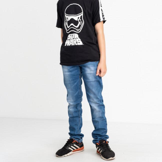 0091-4 Vingvgs джинсы юниор голубые стрейчевые (7 ед. размеры: 25.26.27.28.29.30.31) Vingvgs: артикул 1122312