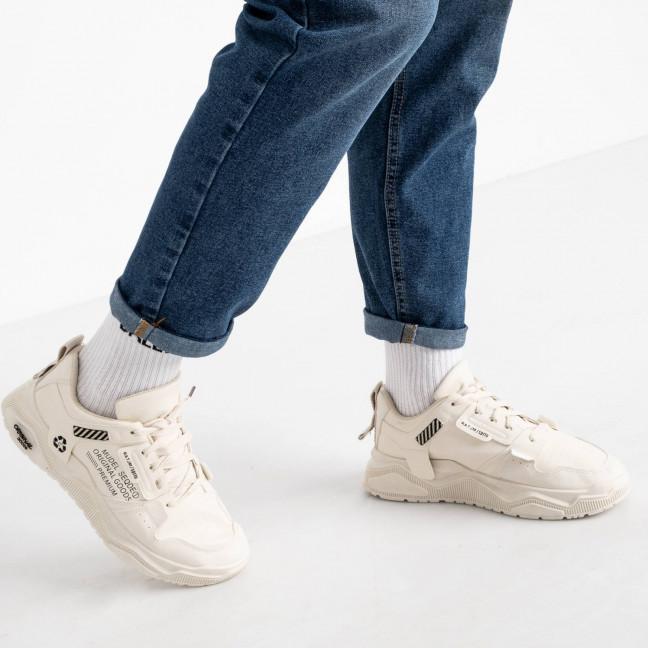 181120-31 бежевые кроссовки мужские (10 ед. размеры: 39.40.40.41.41.42.42.43.43.44) Кроссовки: артикул 1119483