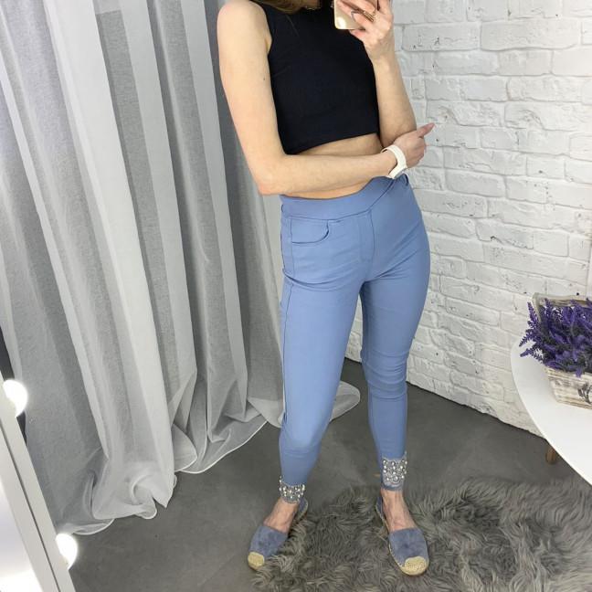 8032-2 Yimeite синие брюки женские стрейчевые (6 ед. размеры: 25.26.27.28.29.30) Yimeite: артикул 1121593