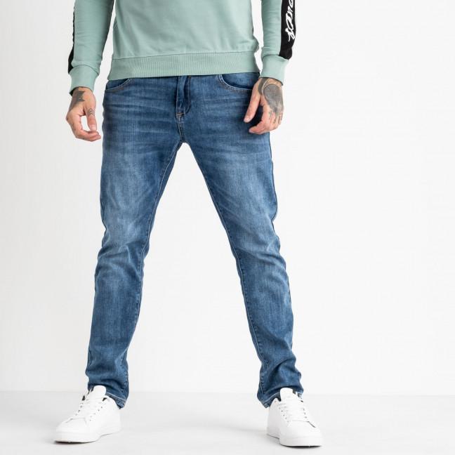 18777 Reigouse джинсы мужские синие стрейчевые (8 ед. размеры: 29.30.31.32.33.34.36.38) REIGOUSE: артикул 1118628