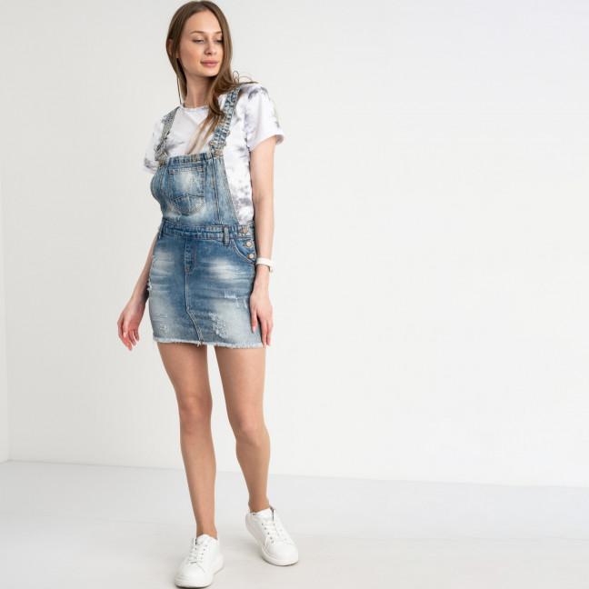 0001-871 Arox сарафан женский джинсовый голубой стрейчевый ( 4 ед. размеры: 26.28.30.31) Arox: артикул 1122022